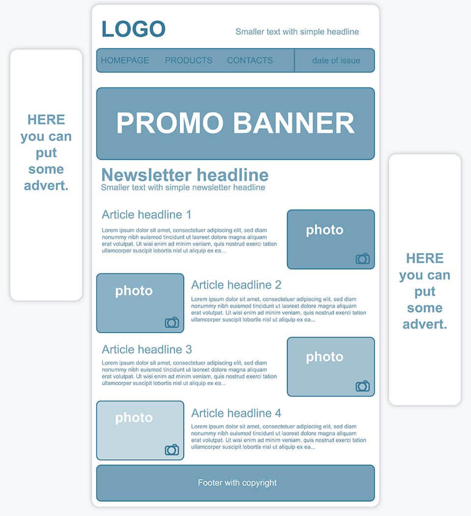 Creer Un Template Personnalise De Newsletter 1 1 Ionos