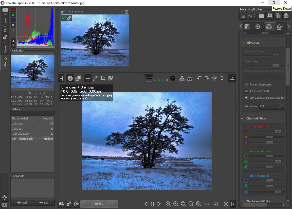 alternatives gratuites  u00e0 adobe lightroom